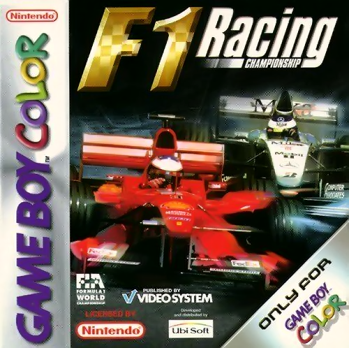 F1 Racing Championship Nintendo Game Boy Color cover artwork