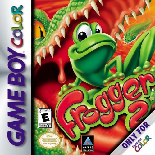 Frogger 2 Nintendo Game Boy Color cover artwork