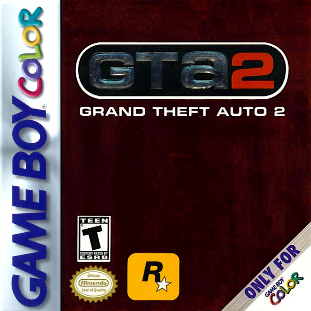 Grand Theft Auto 2 Nintendo Game Boy Color cover artwork