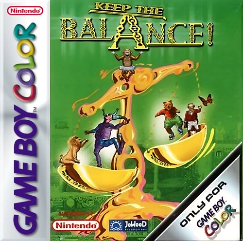 Keep the Balance Nintendo Game Boy Color cover artwork