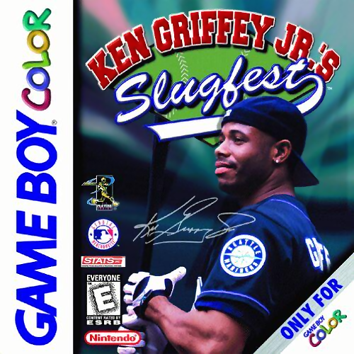 Ken Griffey Jr.'s Slugfest Nintendo Game Boy Color cover artwork