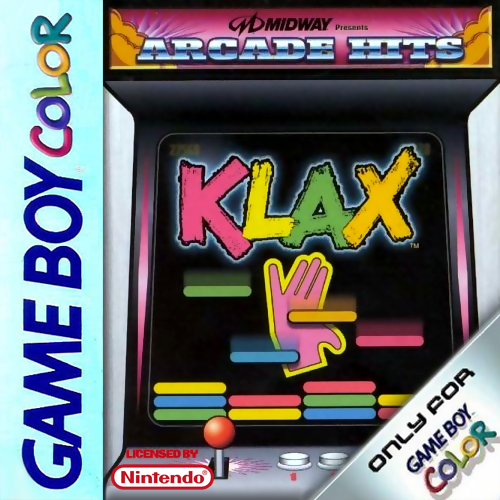 Klax Nintendo Game Boy Color cover artwork