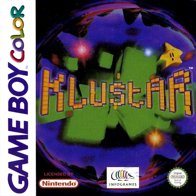 Klustar Nintendo Game Boy Color cover artwork