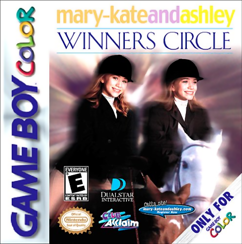 Mary-Kate and Ashley - Winners Circle Nintendo Game Boy Color cover artwork