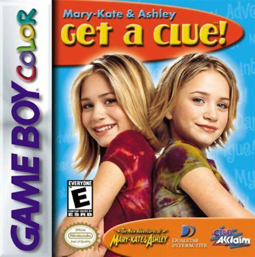 Mary-Kate & Ashley - Get a Clue! Nintendo Game Boy Color cover artwork