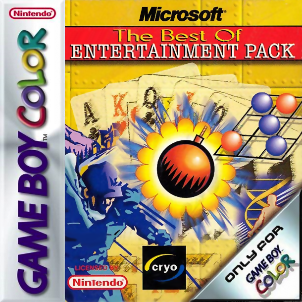 Microsoft - The Best of Entertainment Pack Nintendo Game Boy Color cover artwork