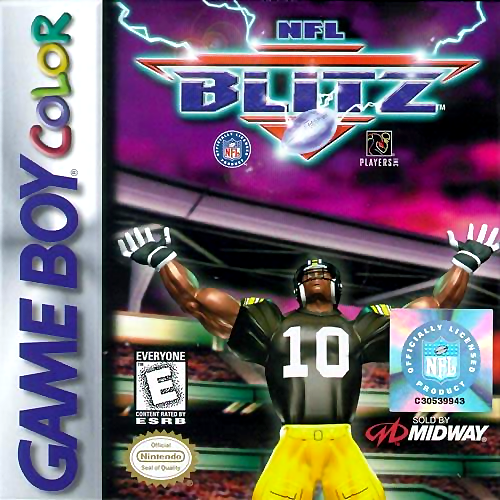 NFL Blitz Nintendo Game Boy Color cover artwork
