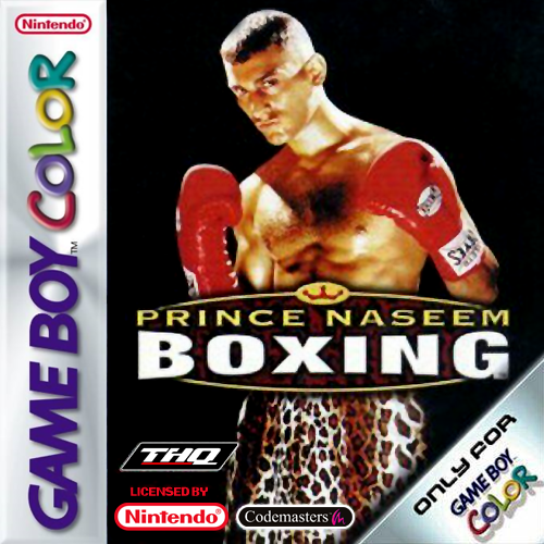 Prince Naseem Boxing Nintendo Game Boy Color cover artwork