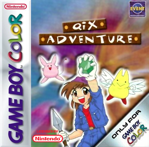 Qix Adventure Nintendo Game Boy Color cover artwork