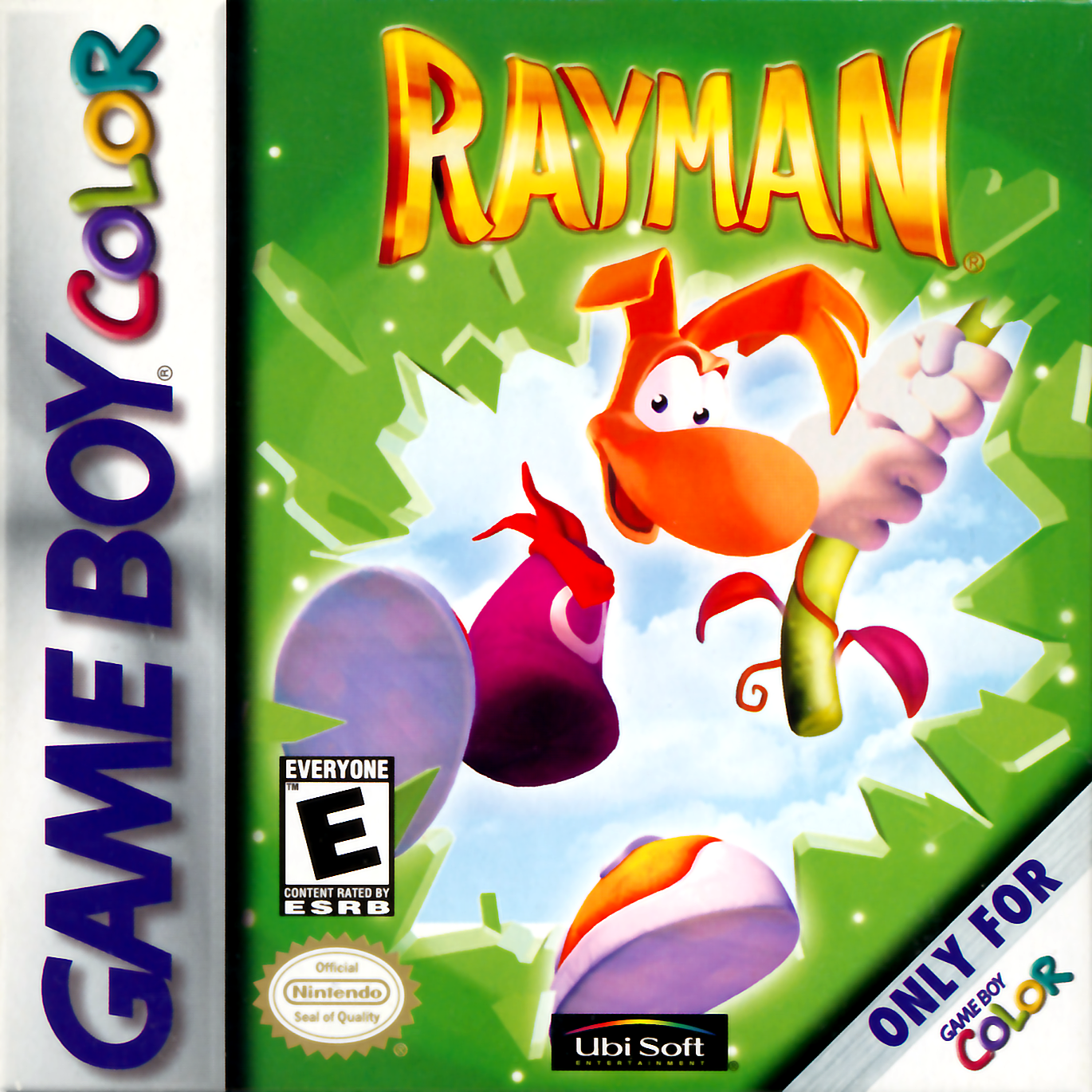 Color online games - Play Rayman Nintendo Game Boy Color Online