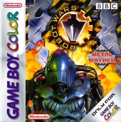 Robot Wars - Metal Mayhem Nintendo Game Boy Color cover artwork