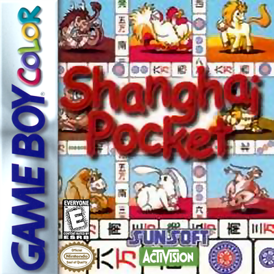 Shanghai Pocket Nintendo Game Boy Color cover artwork