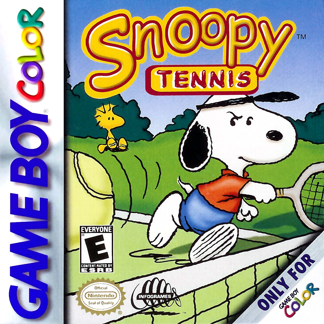 Color online games - Play Snoopy Tennis Nintendo Game Boy Color Online