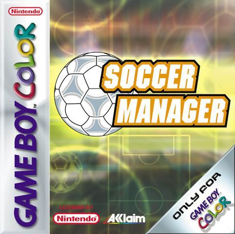 Soccer Manager Nintendo Game Boy Color cover artwork