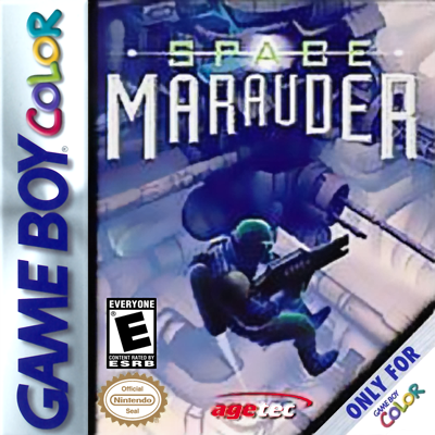 Space Marauder Nintendo Game Boy Color cover artwork