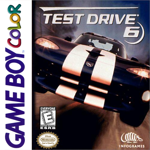 Test Drive 6 Nintendo Game Boy Color cover artwork