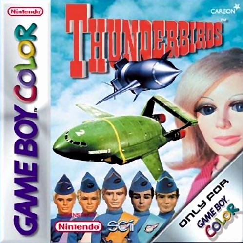 Thunderbirds Nintendo Game Boy Color cover artwork