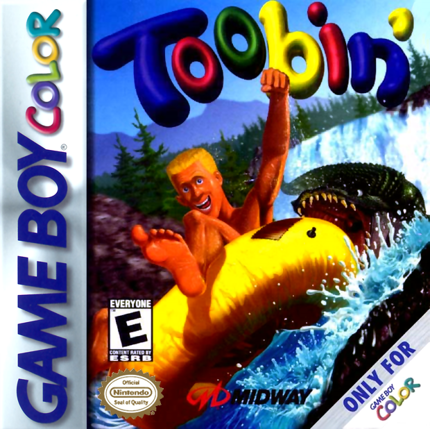 Toobin' Nintendo Game Boy Color cover artwork