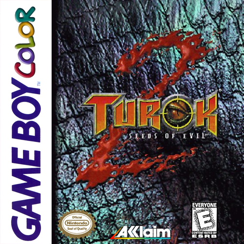 Turok 2 - Seeds of Evil Nintendo Game Boy Color cover artwork