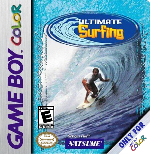 Ultimate Surfing Nintendo Game Boy Color cover artwork