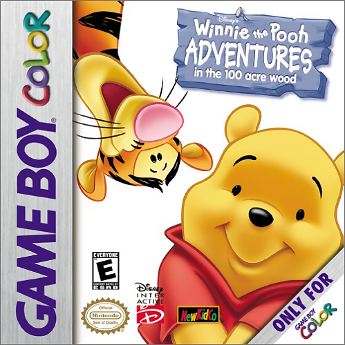 Winnie the Pooh - Adventures in the 100 Acre Wood Nintendo Game Boy Color cover artwork