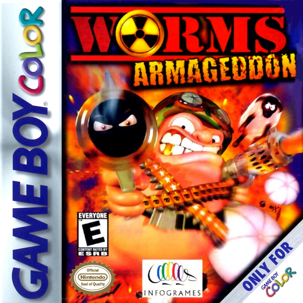 Play Worms Armageddon Nintendo Game Boy Color online | Play ...