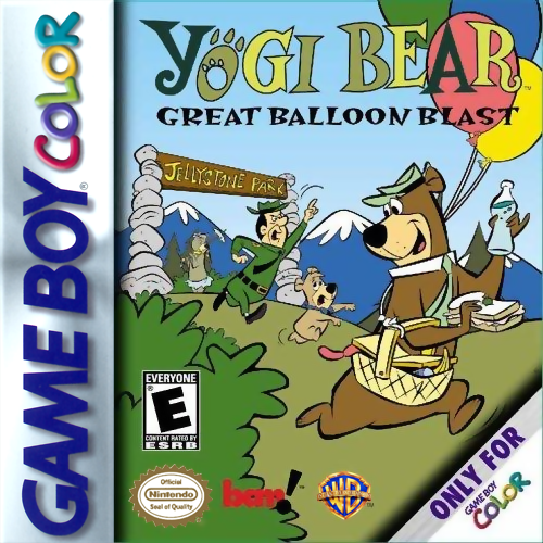 Yogi Bear - Great Balloon Blast Nintendo Game Boy Color cover artwork