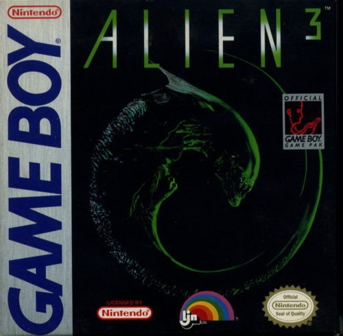 Alien 3 Nintendo Game Boy cover artwork