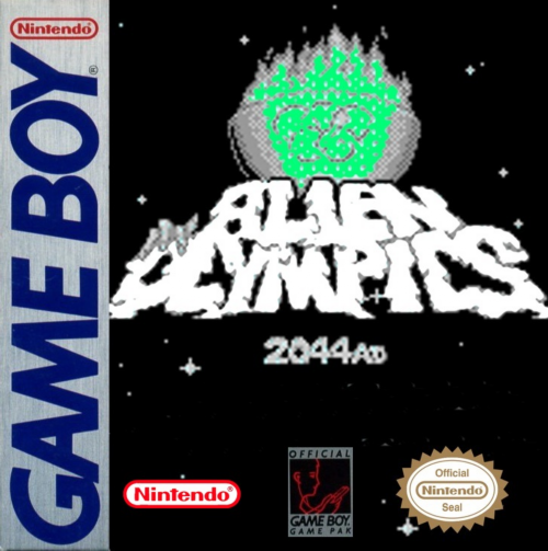 Alien Olympics Nintendo Game Boy cover artwork