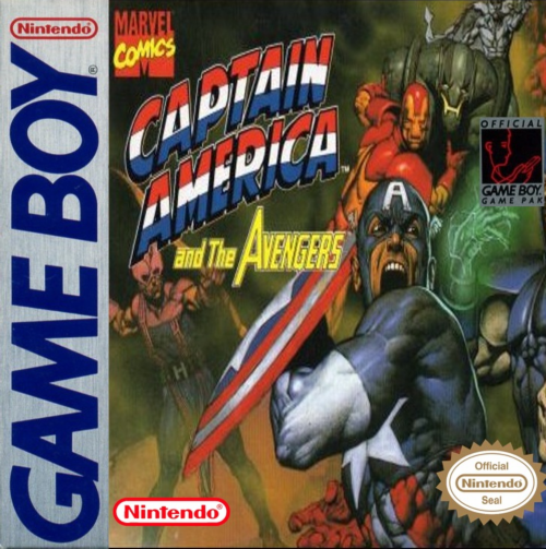 Captain America and the Avengers Nintendo Game Boy cover artwork