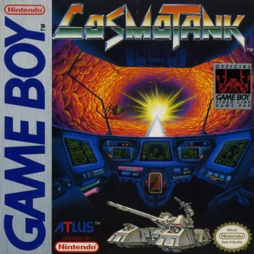 Cosmo Tank Nintendo Game Boy cover artwork