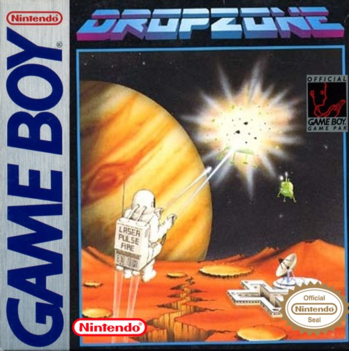 Dropzone Nintendo Game Boy cover artwork