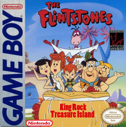Flintstones, The - King Rock Treasure Island Nintendo Game Boy cover artwork
