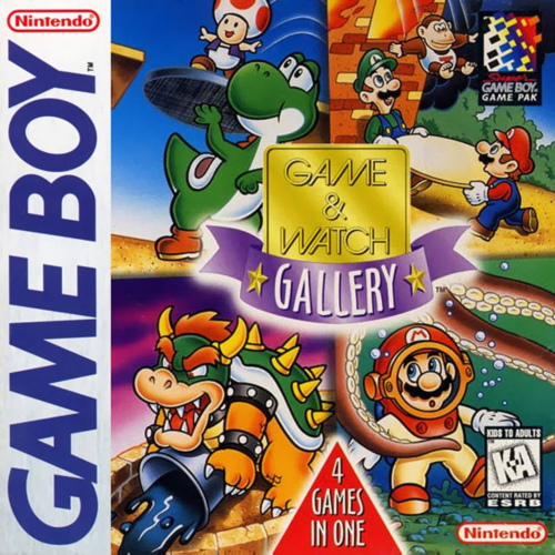 Game & Watch Gallery Nintendo Game Boy cover artwork