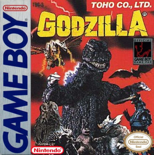 Godzilla Nintendo Game Boy cover artwork