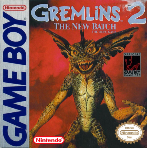 Gremlins 2 - The New Batch Nintendo Game Boy cover artwork
