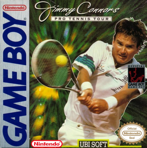 Jimmy Connors Tennis Nintendo Game Boy cover artwork