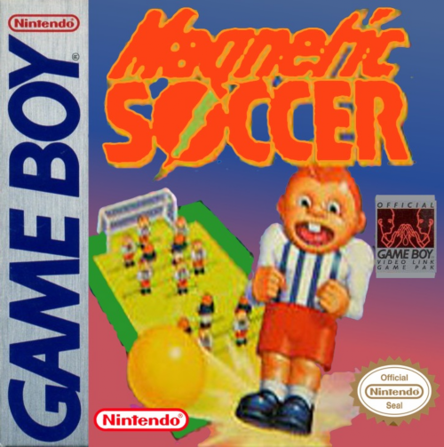 Magnetic Soccer Nintendo Game Boy cover artwork