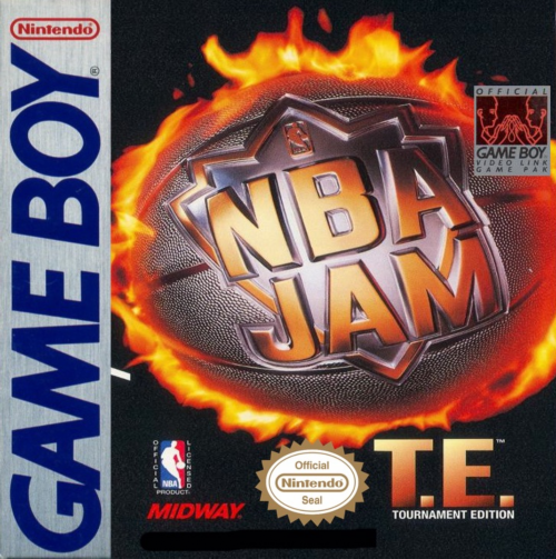 NBA Jam - Tournament Edition Nintendo Game Boy cover artwork