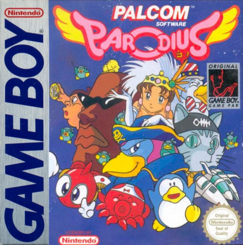 Parodius Nintendo Game Boy cover artwork