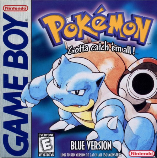 Pokemon - Blue Version Nintendo Game Boy cover artwork