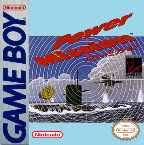 Power Mission Nintendo Game Boy cover artwork