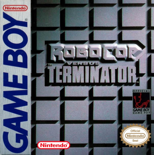 RoboCop vs. The Terminator Nintendo Game Boy cover artwork