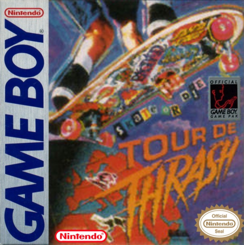 Skate or Die - Tour de Thrash Nintendo Game Boy cover artwork