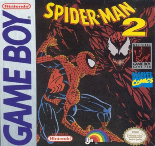 Spider-Man 2 Nintendo Game Boy cover artwork