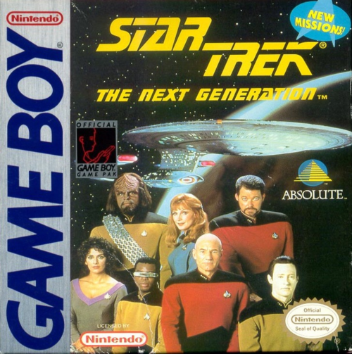 Star Trek - The Next Generation Nintendo Game Boy cover artwork