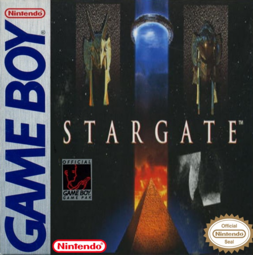 Stargate Nintendo Game Boy cover artwork