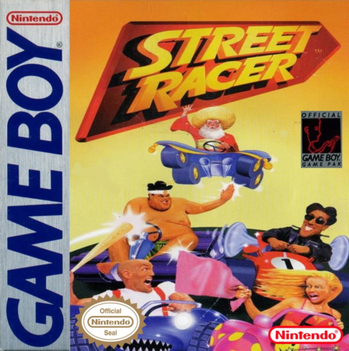 Street Racer Nintendo Game Boy cover artwork