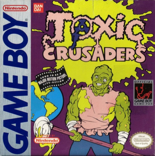 Toxic Crusaders Nintendo Game Boy cover artwork