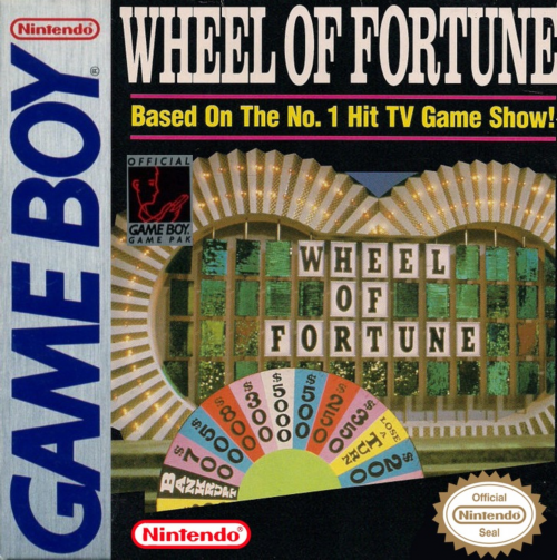 Wheel of Fortune Nintendo Game Boy cover artwork